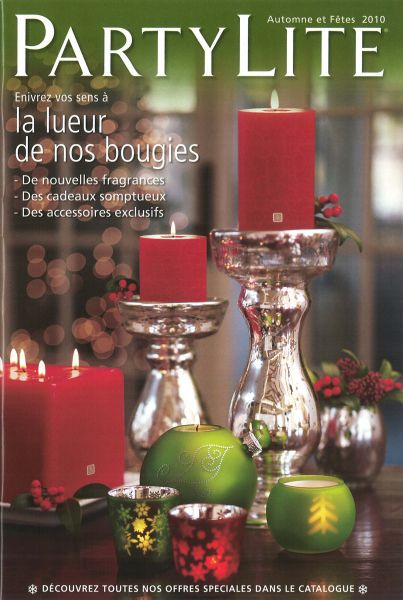 2012 TÉLÉCHARGER CATALOGUE PARTYLITE